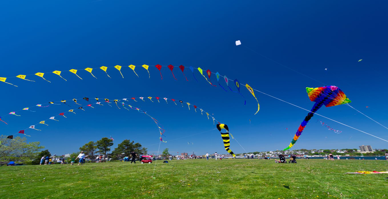 Golden Triangle and Kite Flying